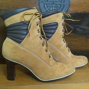 Timberland Block Heel Boots